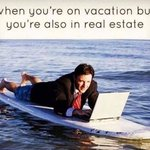Hey @realestategods why does the phone like to ring on vacation and not when I'm in the office?