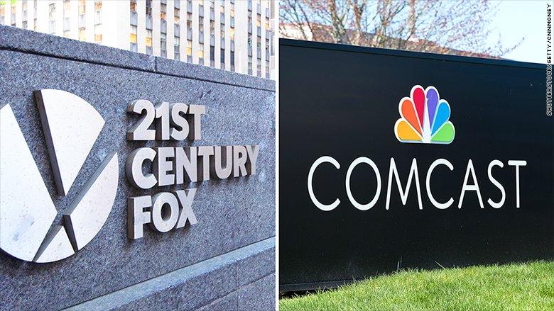 JUST IN: Comcast drops its $65 billion bid for 21st Century Fox, ceding a major bidding war to Disney https://t.co/RK0BbBIRpK