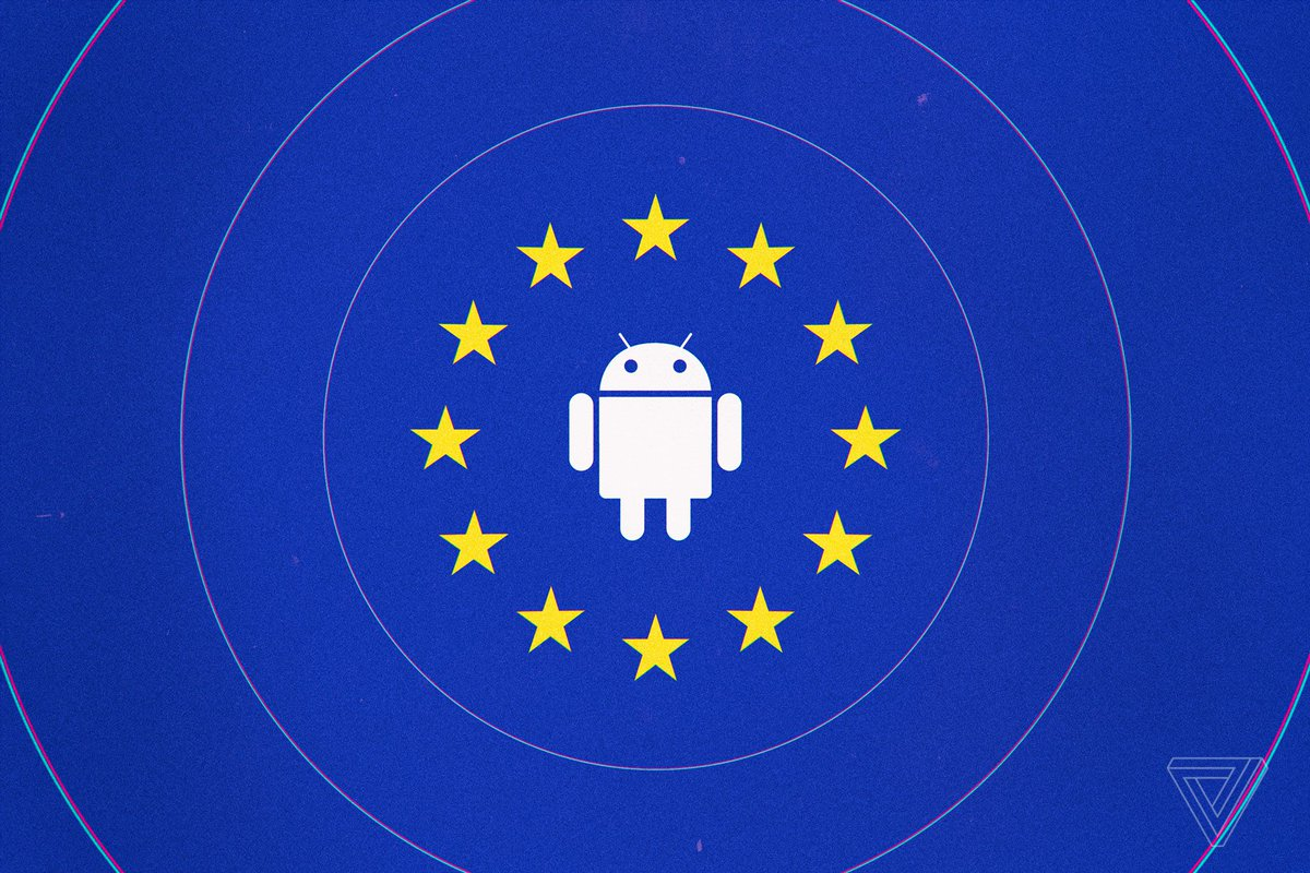 Europe's giant Google fine is too little, too late. My take on the $5 billion EU fine for Google's Android app bundling: https://t.co/t4dwcJq1e9