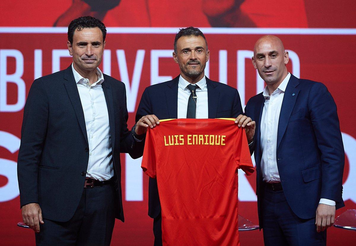🇪🇸 Spain unveil new coach Luis Enrique. Good appointment?