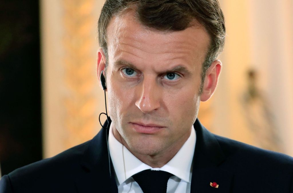 Emmanuel Macron: Mitarbeiter soll Demonstrant geschlagen haben https://t.co/bun0O1XY4o