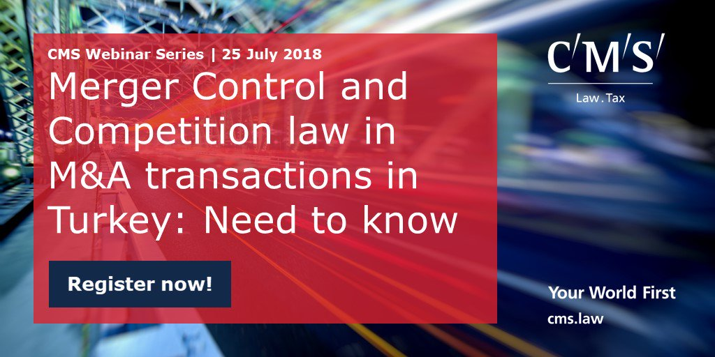 test Twitter Media - Register now for our webinar to learn about the dos and don'ts regarding the merger control and competition law aspects of M&A transactions in Turkey. https://t.co/M60dRgTWe4 https://t.co/veFubmXZfz