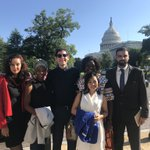The @OpenNetGlobal Leaders are on Capitol Hill meeting with @HouseForeign staffers to talk about threats to an open democratic internet around the world #NetDemocracy