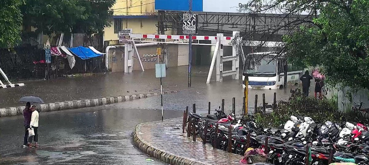 મધ્ય અને ઉત્તર ગુજરાતમાં વરસાદી માહોલ, વડોદરામાં 2 કલાકમાં 3 ઇંચ વરસાદ