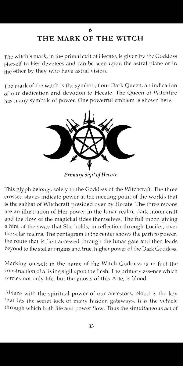 Wicca Blu Moon On Twitter Hecate Sigil Use This Symbol To Call