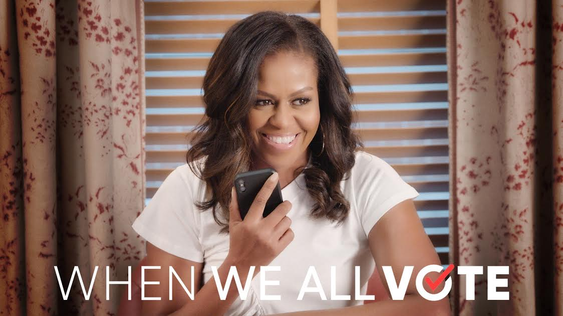 Your vote is your voice. #WhenWeAllVote, we all do better. Register and volunteer at whenweallvote.org.