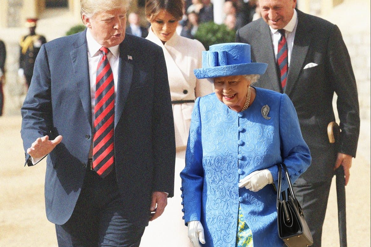 Did the Queen send Donald Trump a message with her jewellery? https://t.co/fl57OAZWCY #TrumpUKVisit #trumpvisit