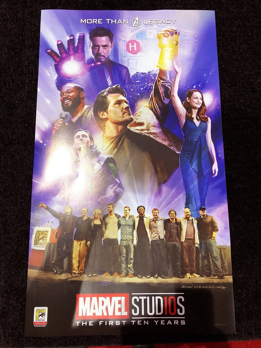 Loki is in the poster that will be given out during the San Diego Comic Con!!