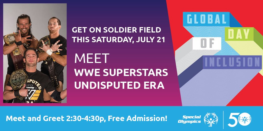 Special olympics on twitter wwes undisputed era is heading to 500 am 20 jul 2018 m4hsunfo