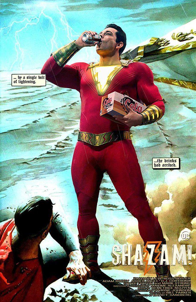 Shazam Aquaman Get New Magazine Covers: MessyPandas (@MessyPandas)