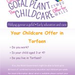 Image for the Tweet beginning: Rhannwch // Please Share #TalkChildcare