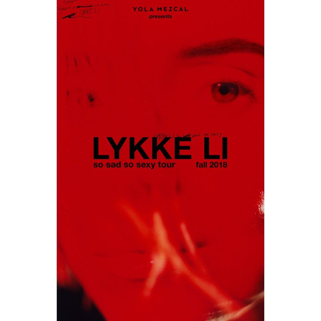 dreaming about tour 🌹 lykkeli.com