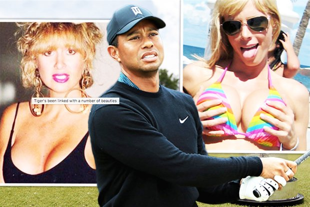 Sleazy Tiger Woods Romanced These Porn Stars Cougars And Married Women As Star Makes Open Championship
