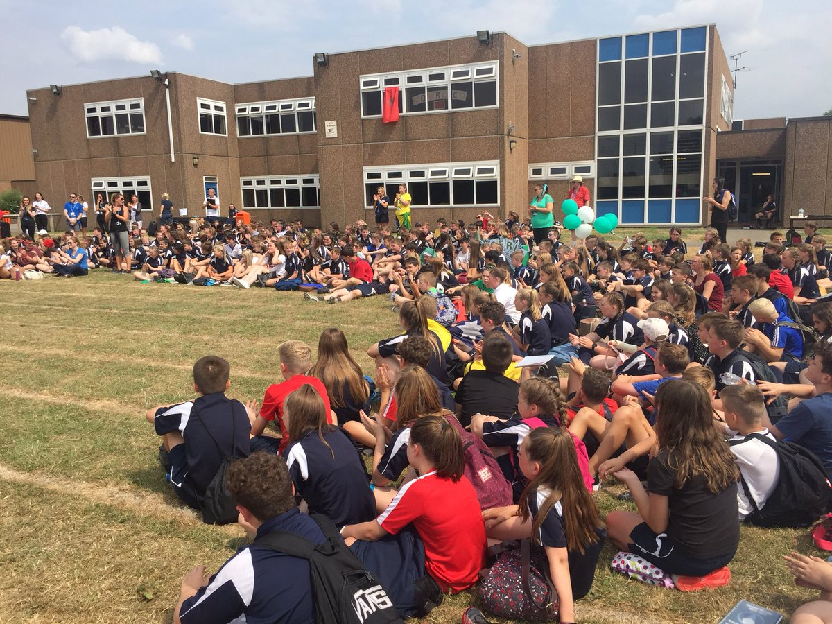 Fantastic sports day today! The whole school involved in activities all day! What a great celebration of the year at Brayton- great students and staff.