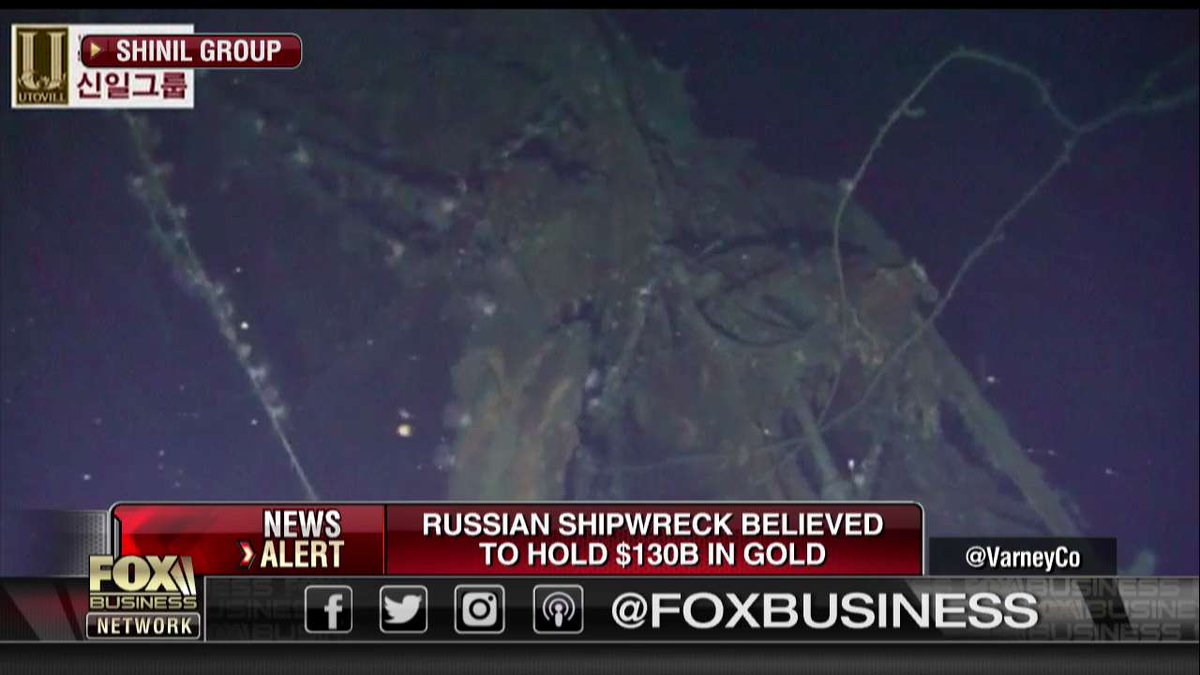 Sunken Imperial Russian warship may contain $130 billion in gold https://t.co/liwreKYhL9