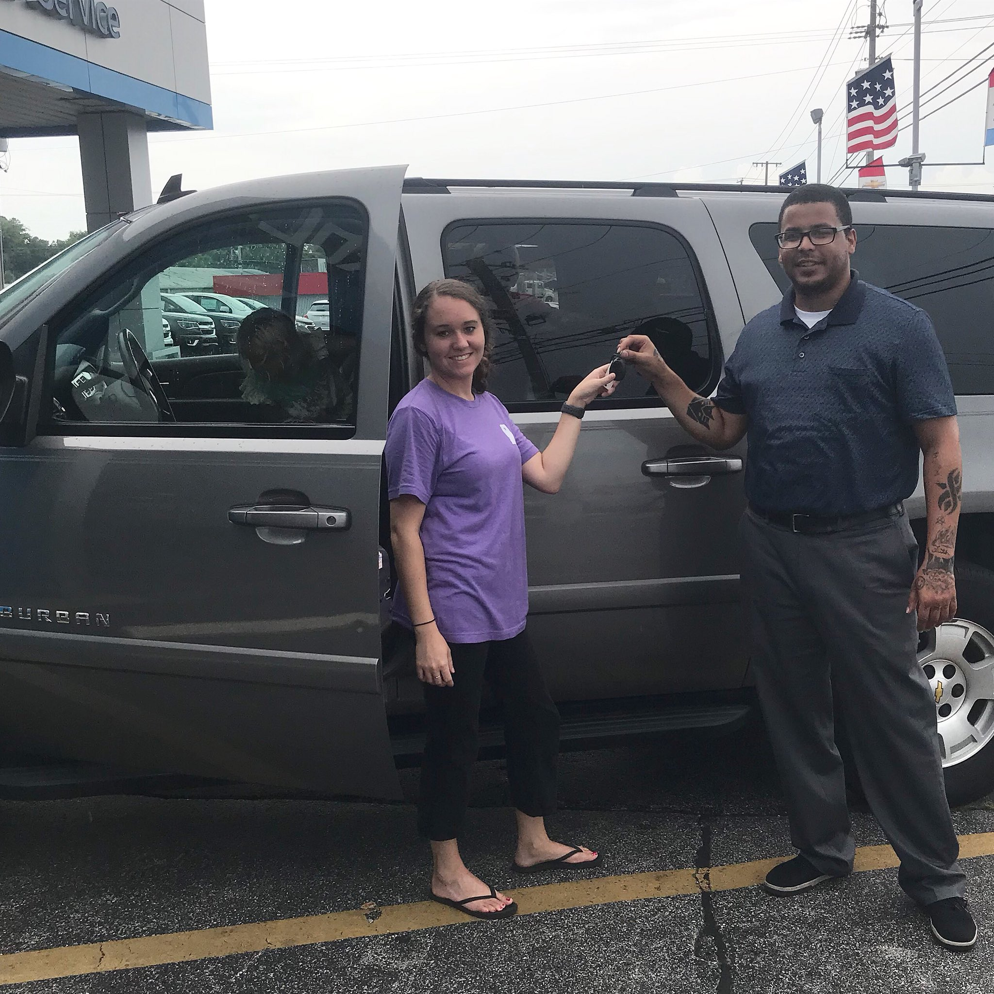 dwayne blackmon chev on twitter epic and sharp in every detail the chevy suburban is topoftheline so big congratulations to lauren deaton for sealing the perfect deal on this beauty welcome to twitter