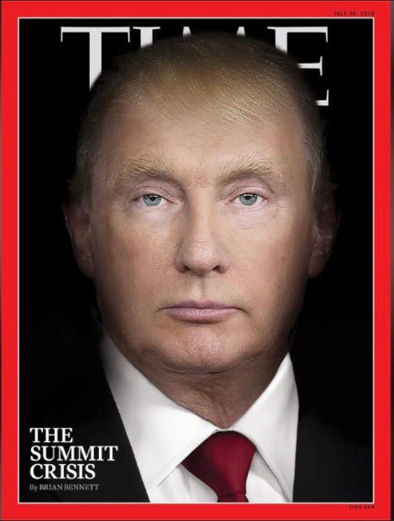 The new @TIME cover puts the spotlight on the Trump-Putin summit: