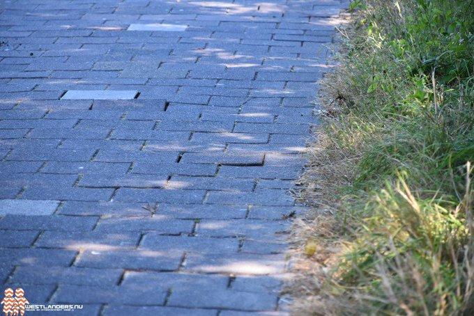 Fietspaden met losse tegels door aanhoudende droogte https://t.co/z8Tr59B7PZ https://t.co/VsYrkRrkgz