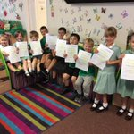 Well done to those children who received their certificates for their excellant attendance this year.
