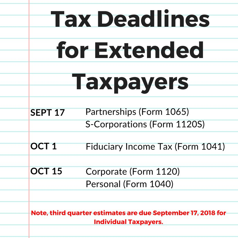 taxextensions hashtag on Twitter