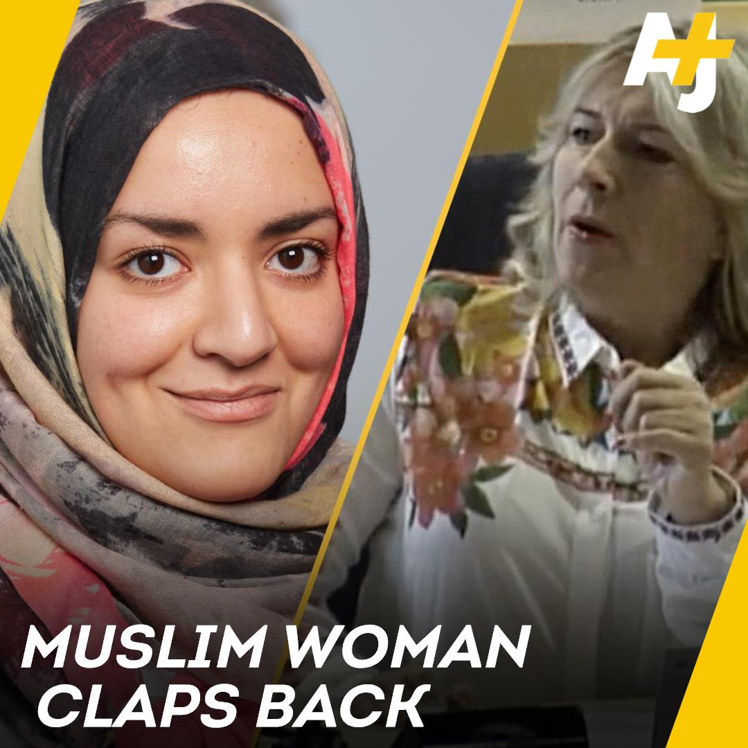 This is how a Muslim academic clapped back at two far-right politicians in Europe.