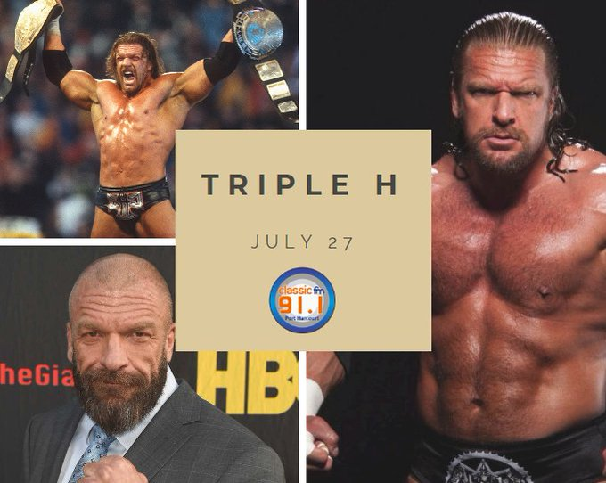 Happy birthday to actor and former WWE wrestler Paul Michael Levesque better known as Triple H.