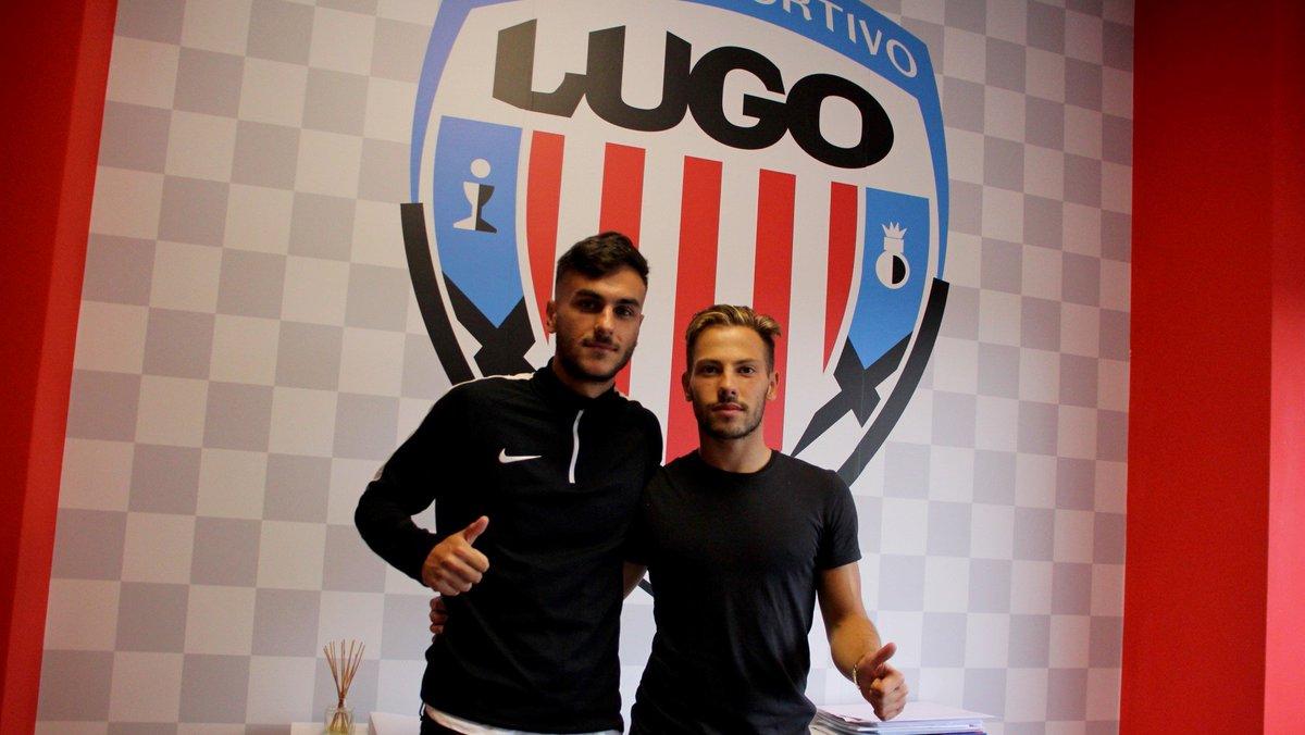 Refuerzos para el filial del @CDeportivoLugo @varofernandez2 (Álvaro Fernández Varo) y Antón Escobar refuerzan al filial albivermello. #Lugo ▶️goo.gl/zHb9EL #AUniónFaiForza #ForzaLugo