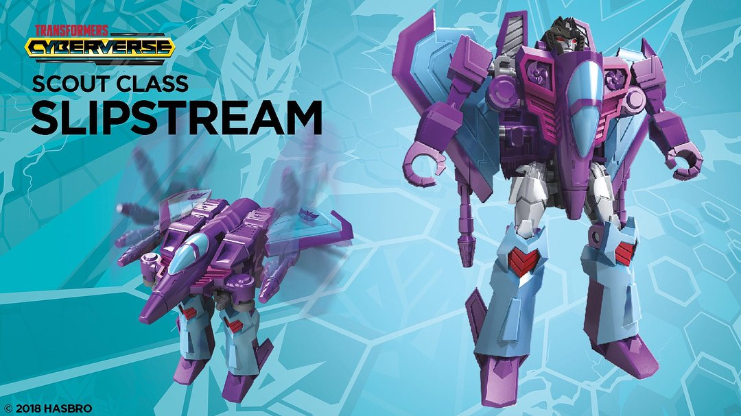 Transformers Cyberverse Slipstream