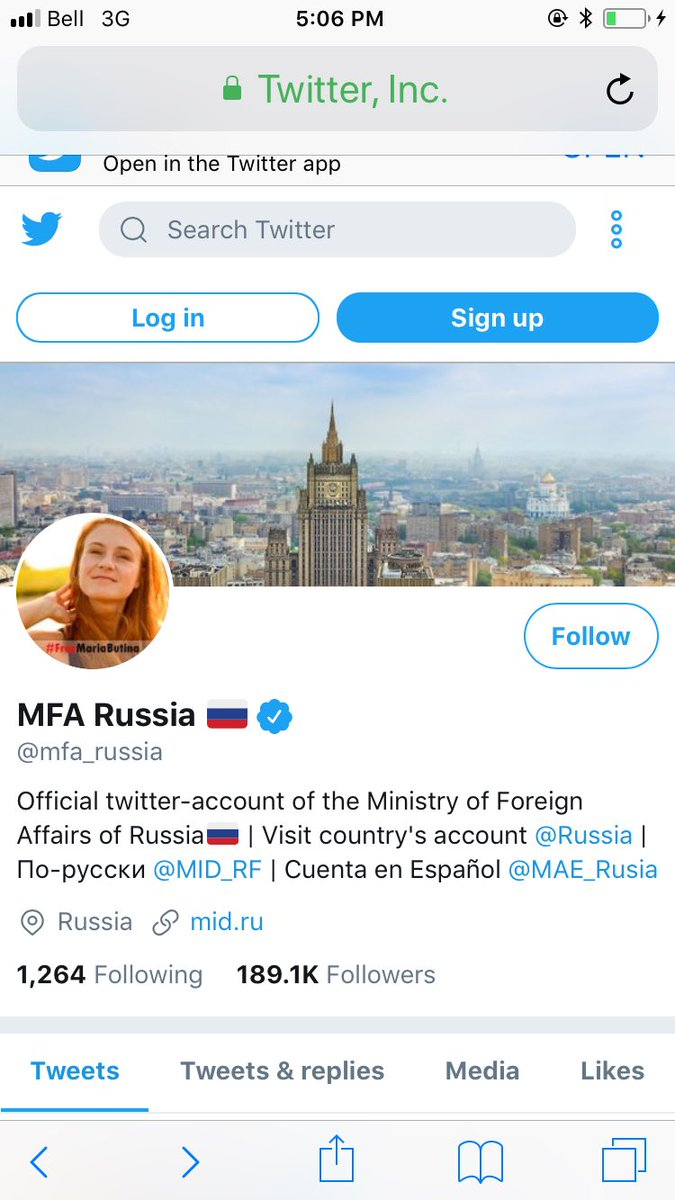 I suppose the Russian ministry of foreign affairs is just very devoted to gun rights
