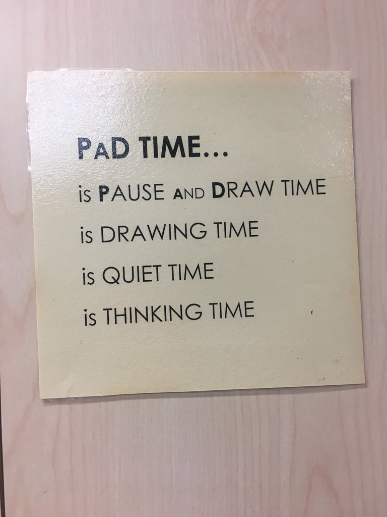 PaD time - not only for art - a great chance for elementary friends to consolidate learning @CaedmonSchoolNY