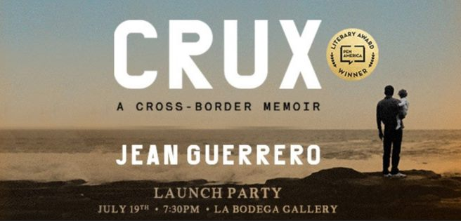 Join reporter & author  for@jeanguerre the launch of her book CRUX: A Cross-Border Memoir tonight at La Bodega Gallery  Details:  https://t.co/McJrH9jgpm