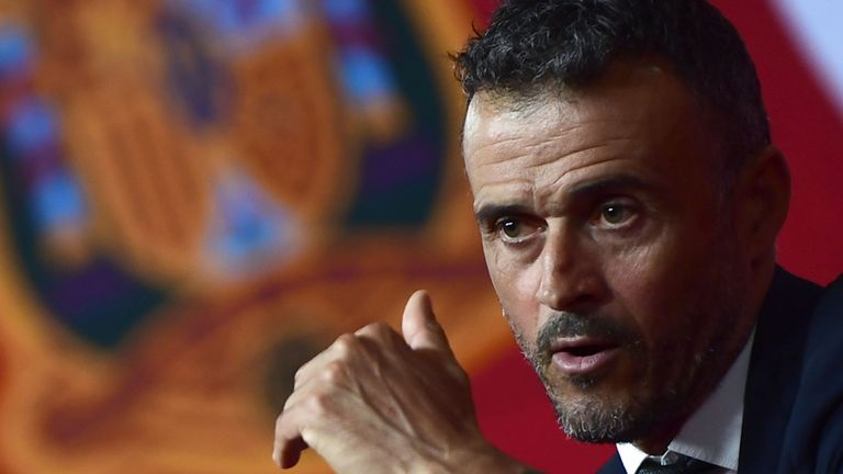 Luis Enrique says he will opt for evolution rather than revolution with Spain as he begins his reign as national team boss. More here: skysports.tv/jfC5ZP