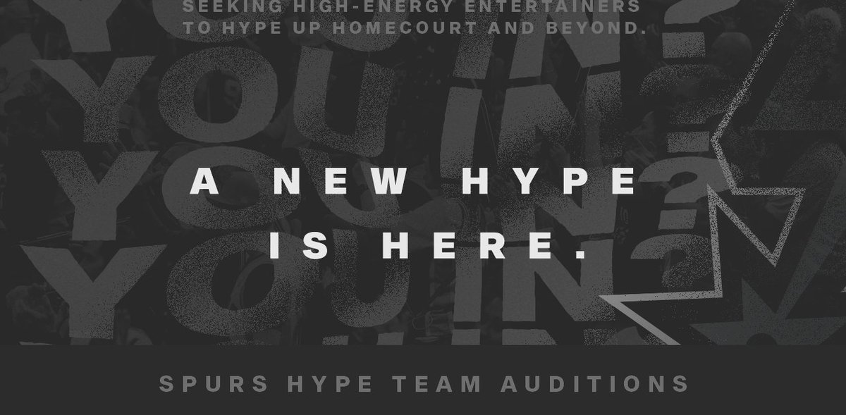 The Hype is here! 👏  Auditions for the new Hype Team will be this Saturday at the St. Anthony's High School Fencing Center.  More: https://t.co/ax9KnJxFkC