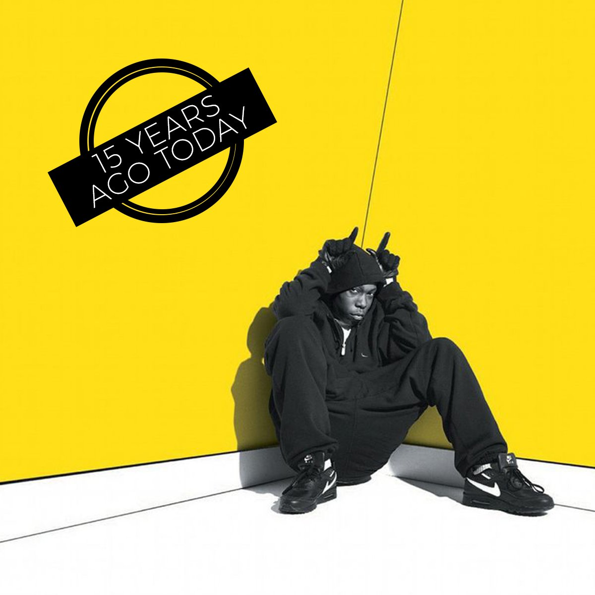 15 years ago today it all started for @DizzeeRascal when he released his debut album Boy In Da Corner