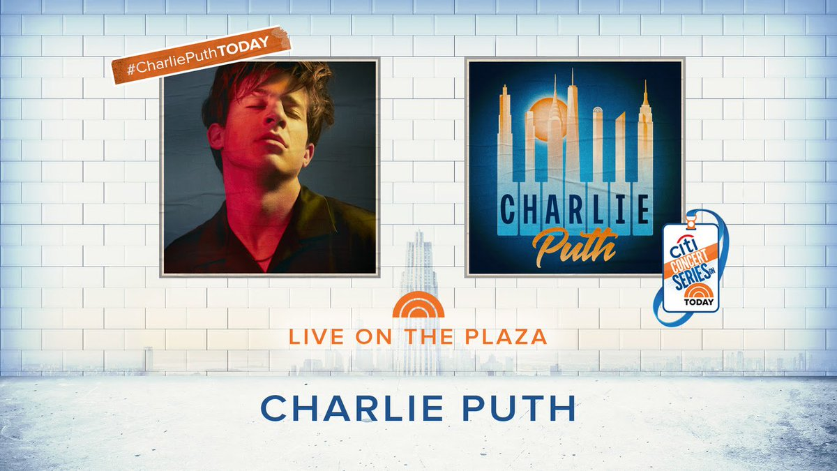 Waking up early tomorrow to watch & #Shazam @charlieputh's performance on the @TODAYshow!! 🙌🔥⏰ #CharliePuthTODAY