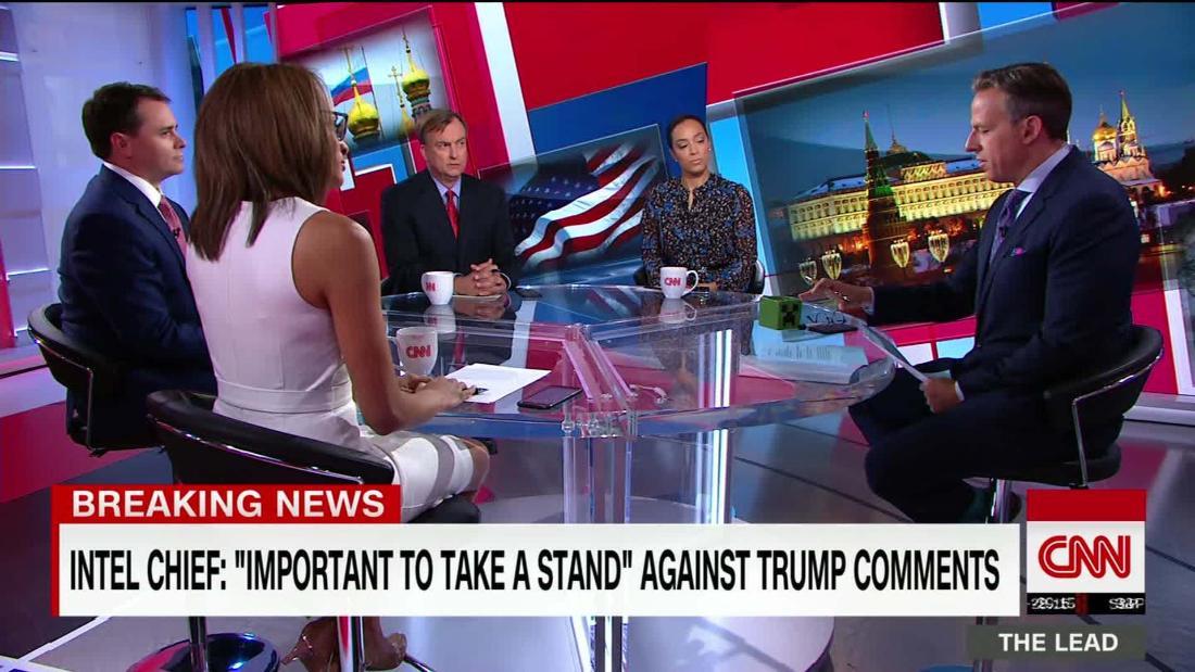 Intel chief: Don't know what happened in Trump-Putin meeting https://t.co/iE2wKPrEdP @angela_rye @HolmesJosh @niaCNN Michael Allen discuss @TheLeadCNN