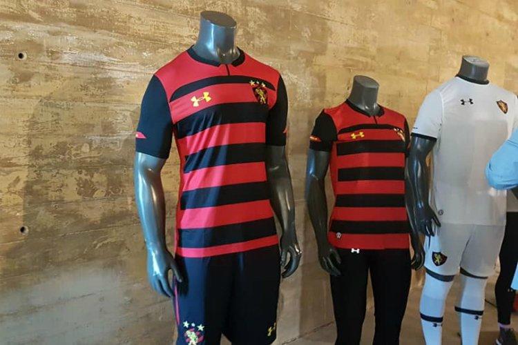 beca46d3697 fotos sport apresenta novos uniformes para jogo e treino em parceria com a under  armour