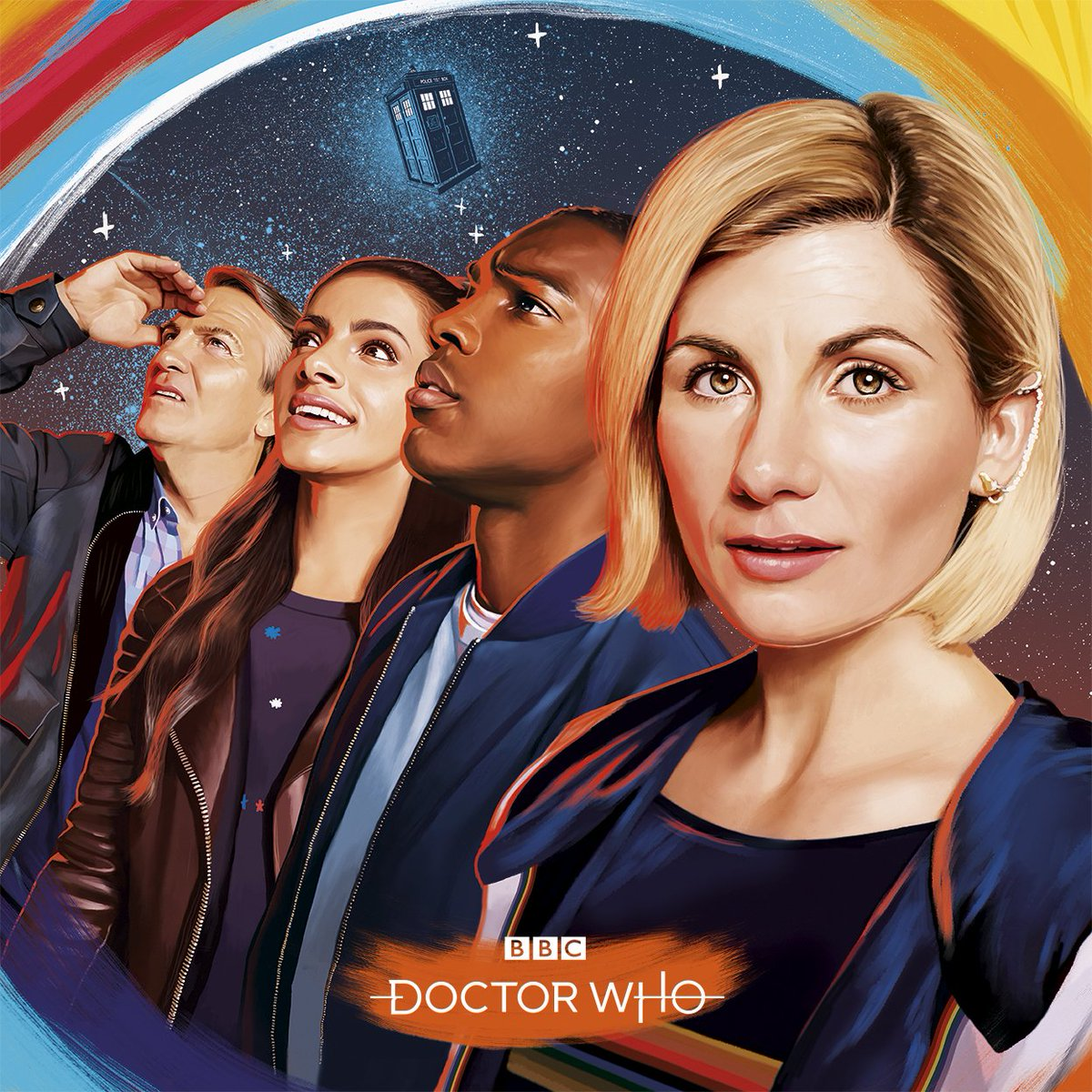 The new team. #DoctorWho