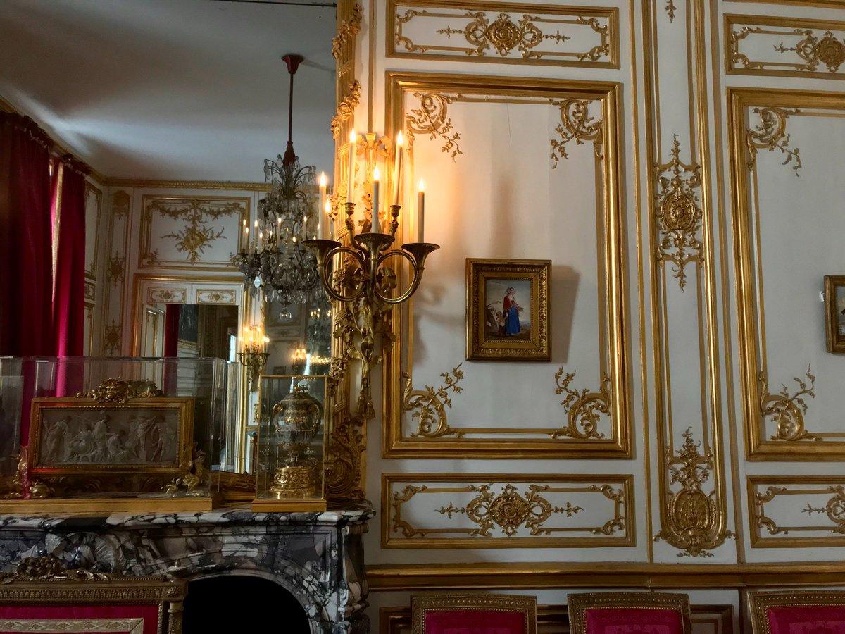 Versaillesweloveyou On Twitter Salle à Manger Dite Des Retours De