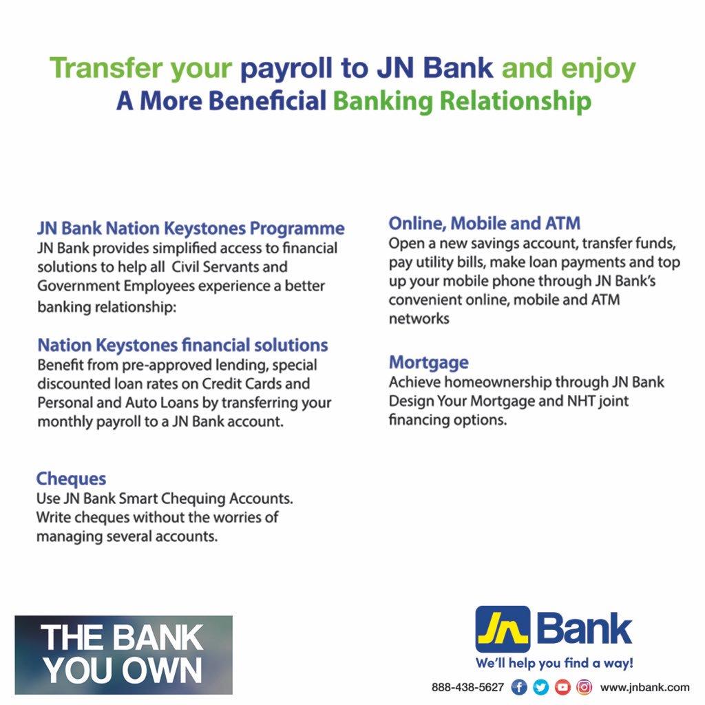 JN Bank on Twitter: