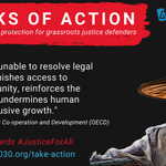 Image for the Tweet beginning: Funding grassroots justice defenders is