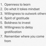 My best nugget from the podcast road trip today.......... @brianbuffini Gave me the 7 traits of the most successful immigrants or people who came here with nothing (rags to riches). Applies to us all! Anyone who wants to be elite! #DoWork