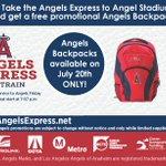 Image for the Tweet beginning: Take @MetrolinkAngels Express for $7