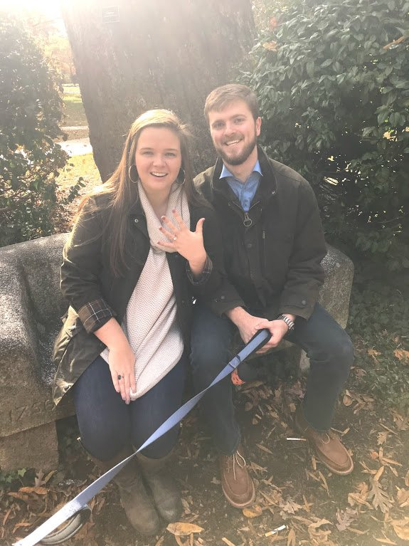 It's safe to say these lovebirds fell head over [tar] heels 😍💙 📸: @kaylaablevins and @cdfulk23 on Twitter https://t.co/Cgxm8lOXc8