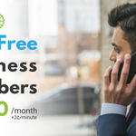 Make it easier for your customers to reach you - Set your business up with a toll-free number today!