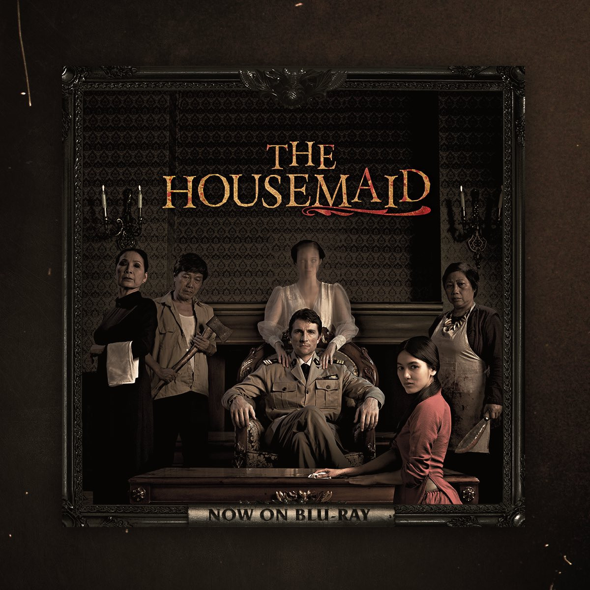 Wrathful spirits have awakened. #TheHouseMaid is now available on digital and @Scream_Factory Blu-ray.