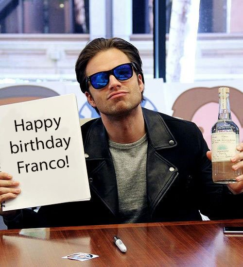 Happy birthday to my fellow Sebastian Stan stan