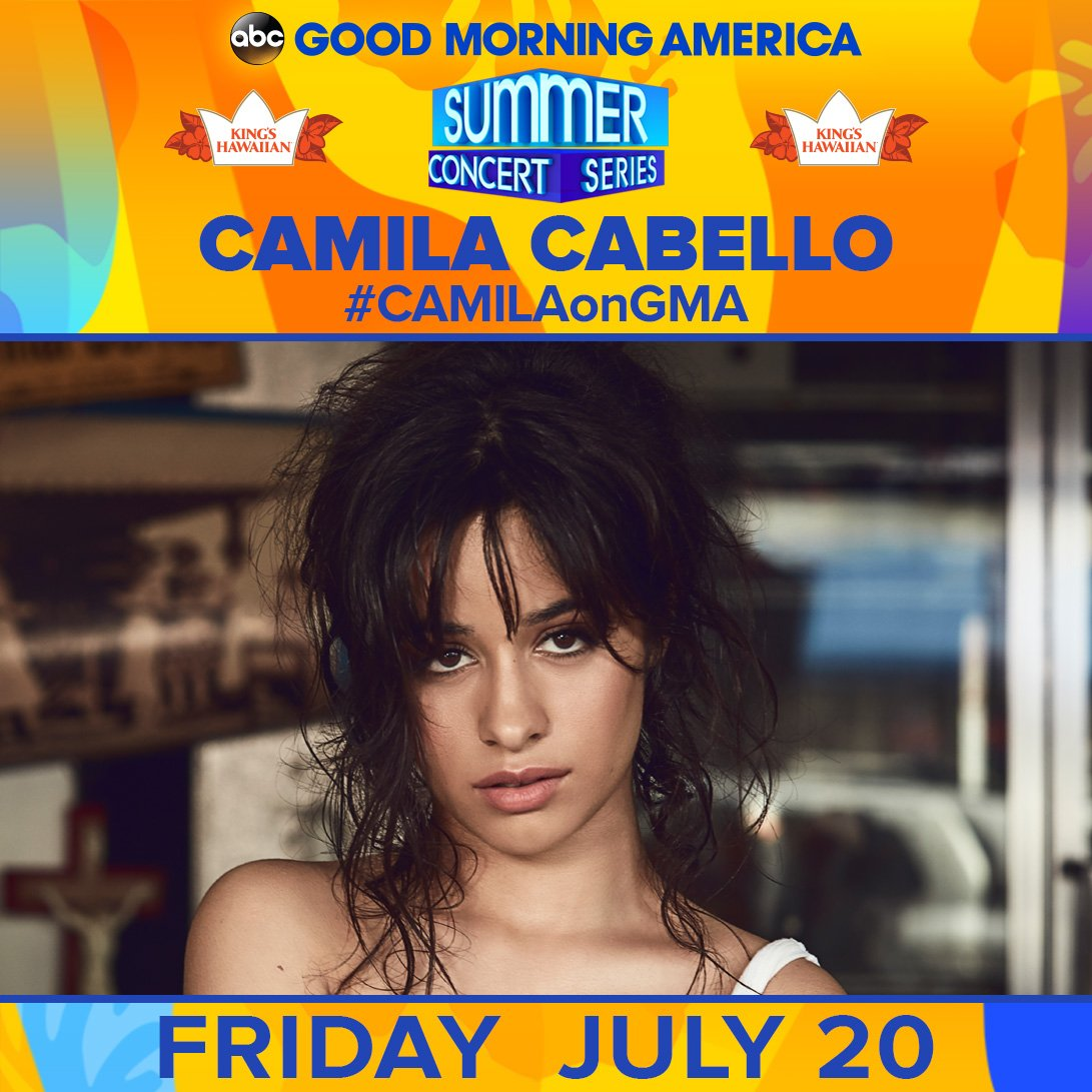 Good Morning America's photo on #CAMILAonGMA
