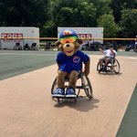 We had a ball today with @abilitylab's Caring for Kids Program!  #CubsCharities #EverybodyIn