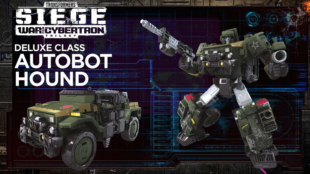 Transformers Siege War for Cybertron Hound Deluxe Class In Stock
